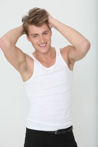 Alex Sparrow - Eurovision Representative 2011 - is back with a new song/collaboration. Photograph courtesy of imdb.com
