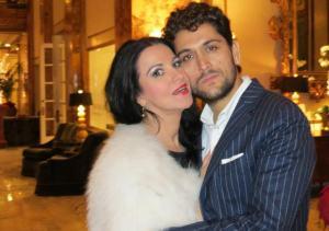 "Romanian Eurovision Star ""Cezar"". Photograph courtesy of www.agentiadepresamondena.com"