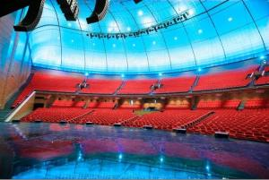 Crocus City Hall Moscow - Where Bonnie Tyler will be performing. Photograph courtesy of My Destination.com