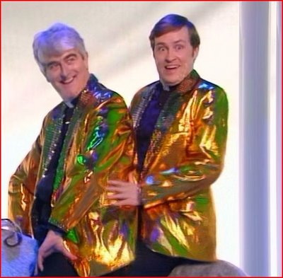 """My Lovely Horse"" - Father Ted's Eurovision Entry for Ireland - Photograph courtesy of Channel4.com"