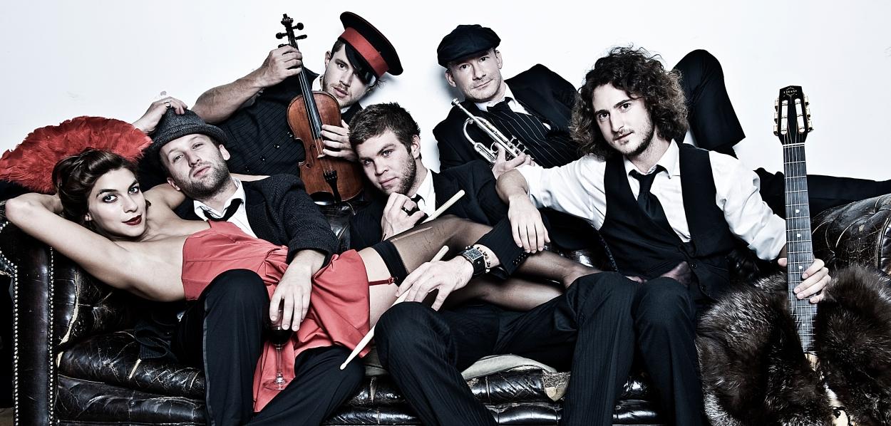 London Band Molotov Jukebox - UK Eurovision Act 2014? Photograph courtesy of continentaldrifts.com