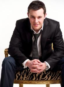 Nathan Carter - An up and coming Country Music Singer that we line. Photograph courtesy of OceanFM.cm