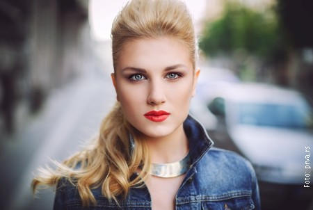 Nevena Bozovic formerly of Moje 3 (Serbia 2013) releases a solo single. Photograph courtesy of prva.rs