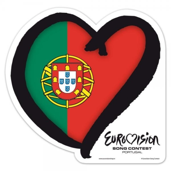 Portugal at Eurovision. Photograph courtesy of EurovisionShop.tv