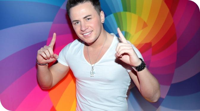 Ryan Dolan - Irish Eurovision 2013 star. Photograph courtesy of FitMagazine.ie