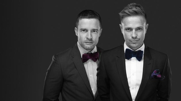 """The Hit"" presenters - Aidan Power and Nicky Byrne. Photograph courtesy of RTE.ie"