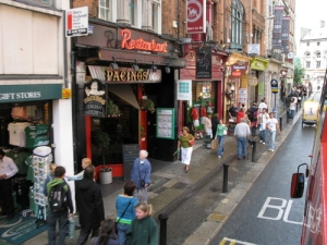 Eurobash HQ - Pacino's on Suffolk Street Dublin 2. Photograph courtesy of Google Maps