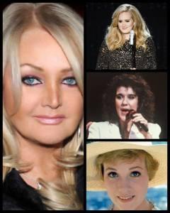 Bonnie Tyler performed by 19 Divas via the amazing Christina Bianco. Photograph Eurovision Ireland