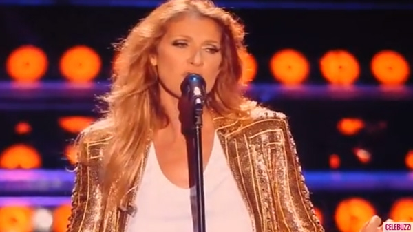 "Eurovision Winner Celine Dion - ""Loved Me Back To Life""Photograph courtesy of hotnewsgator.com"