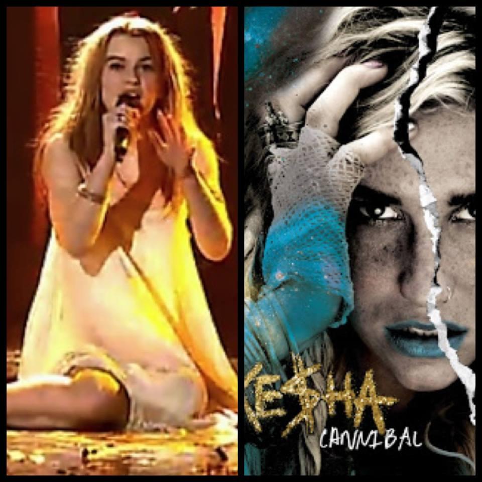 """Only Teardrops"" gets a Kesha make-over. Photograph Eurovision Ireland"