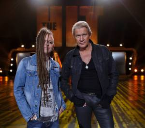 """Johnny Logan and Duke Special - compete in """"The Hit"""" live this Friday August 9th and you can be there too! Photograph courtesy of RTE"""