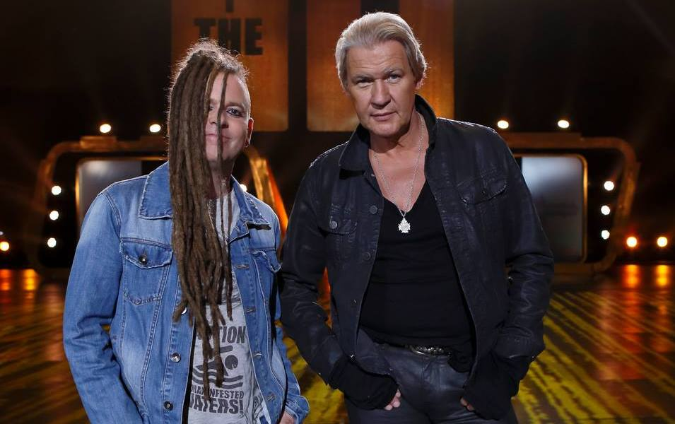 "Johnny Logan and Duke Special - compete in ""The Hit"" live this Friday August 9th and you can be there too! Photograph courtesy of RTE"