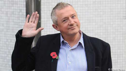 Louis Walsh waves Jedward Goodbye. Photograph courtesy of thestar.ie