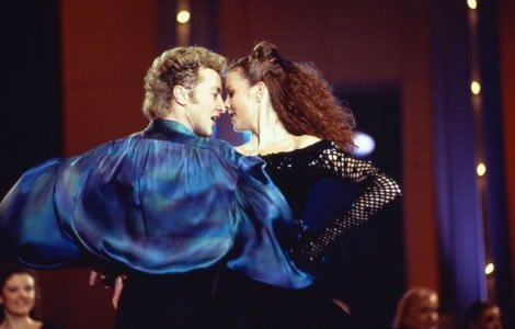 Riverdance - The Interval Act from Eurovision 1994. Photograph courtesy of Tyroneproductions.ie