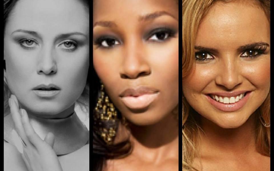Eurovision 2014 Talent Search for Ireland - Roisin Murphy, Jameia and Nadine Coyle. Photograph Eurovision Ireland