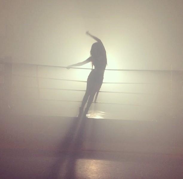 """ZOE Alexis - """"Steady As You Go"""" video shoot. Photograph courtesy of Zoe Alexis Facebook"""