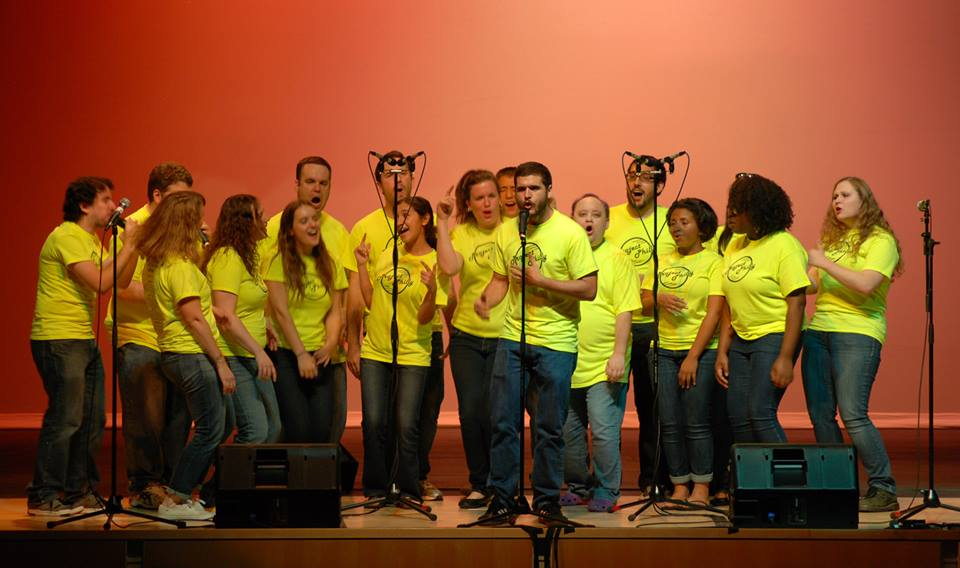 "A Cappella Project - Philadelphia performing ""Only Love Survives"" from Ryan Dolan. Photograph courtesy of Facebook"