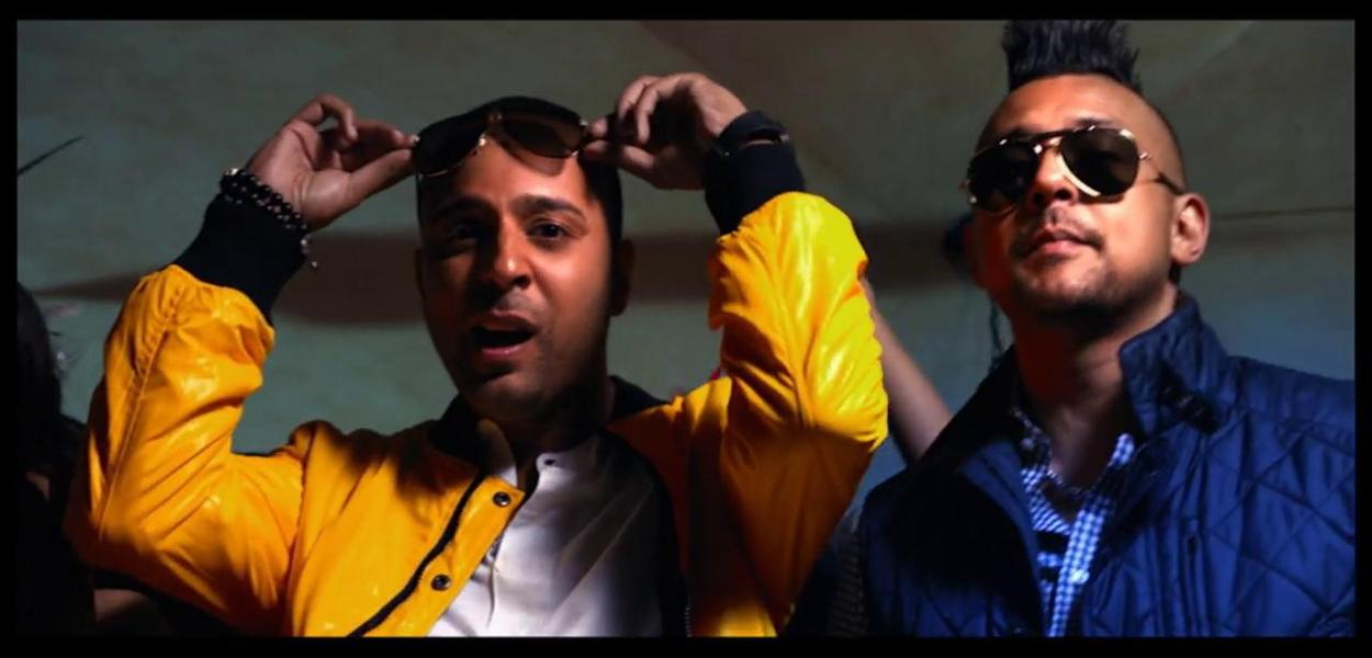 "Arash ans Sean Paul - ""She Makes Me Go"". Photograph courtesy of tape.tv"