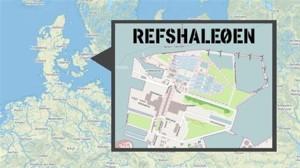 B & W halls located on the peninsula Refshaleøen - middle of Copenhagen harbor. Photograph courtesy of Wikipedia