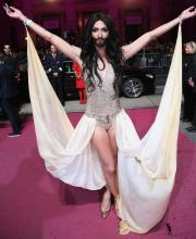 Conchita Wurst will represent Austria at Eurovision 2014. Photograph courtesy of www.nydailynews.com