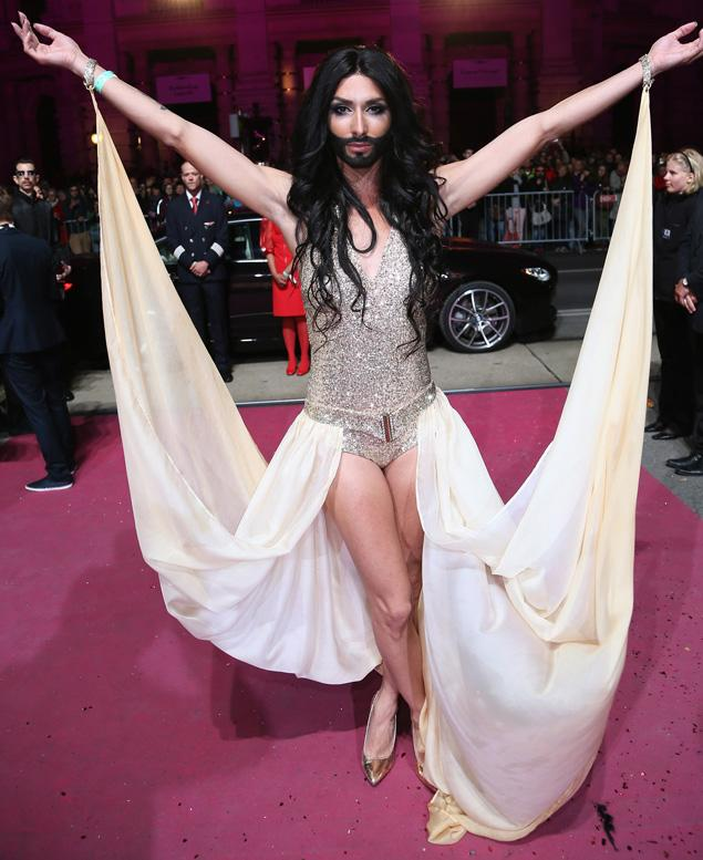 Conchita Wurst will represent Austria at Eurovision 2014. Photograph courtesy of www.nydailynews.com