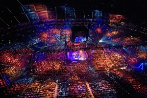 Lanxess Arena Cologne. Photograph courtesy of www.eventim.de