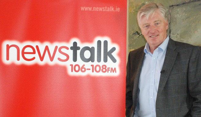 Eurovision Ireland were on the Pat Kenny Radio show Newstalk 106-108FM. Photograph courtesy of thepotato.ie