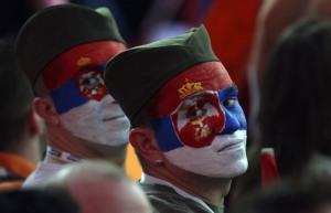 Serbia Eurovision 2015. Photograph courtesy of TANJUG/ TANJA VALIC/bk