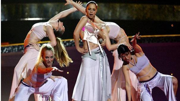 Turkey's Eurovision Winner Sertab Erener. Photograph courtesy of gundem.milliyet.com.tr