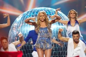 Alyona Lanskaya - Belarus Eurovision 2013. Photograph courtesy of cronicasdeeurofestivais