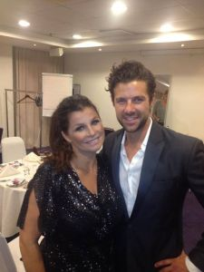 Didrik Solli-Tangen and Eurovision Winner Carola. Photograph courtesy of Didrik Solli-Tangen Facebook