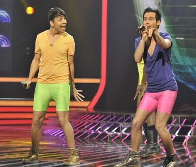 Diva Fever - X-Factor. Photograph courtesy of X-Factor YouTube