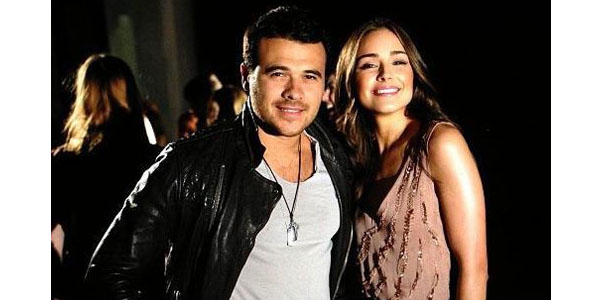 Emin and Miss Universe Olivia Culpo. Photograph courtesy of sehife.az