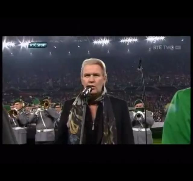 Johnny Logan In Cologne. Photograph courtesy of YouTube