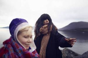 Loreen in Lappland. Photograph courtesy of Tumblr and loreenxtalhaoui.com/
