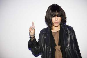 Loreen in Moscow and her new inage. Photograph Courtesy of ROBERT NORDBERG