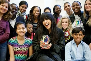 Loreen - World's Choldren's Prize. Photograph Courtesy of worldschildrensprize.org/