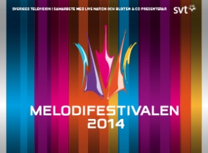 Melodifestivalen 2014 The Album. Photograph courtesy of SVT