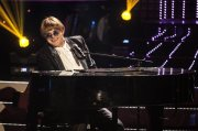 Elton John gets a Eurovision Make Over. Photograph courtesy of TV3