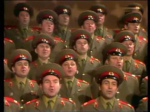 Russian Army Choir aim for Eurovision Entry in 2014. Photograph courtesy of songbird.me