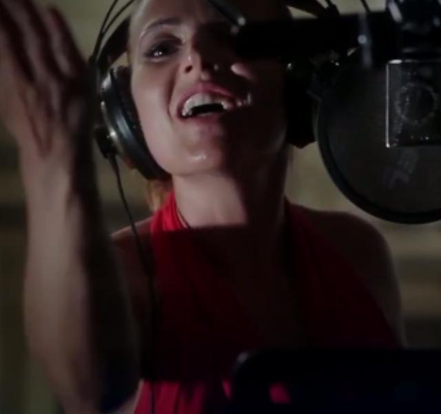 Valentina Monetta Eurovision 2014. Photograph courtesy of YouTube