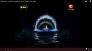Zlata - On Ukraine's Got Talent. Photograph Courtesy of YouTube