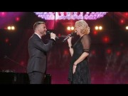 Agnetha Fältskog and Gary Barlow - Children in Need. Photograph Courtesy of BBC