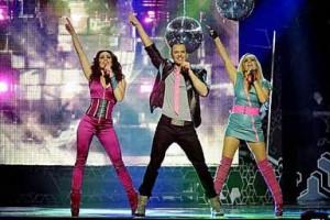 Alcazar Return to Melodifestivalen 2014. Photograph courtesy of SVT