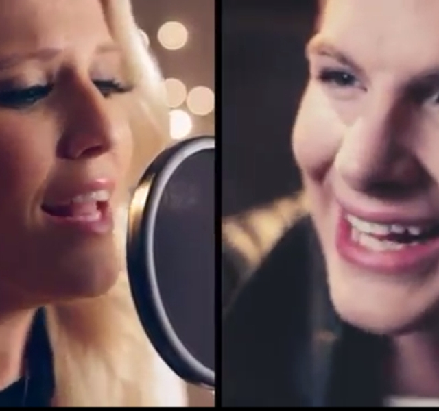 Cascada and Robin Stjernberg Duet Together. Photograph Courtesy of YouTube