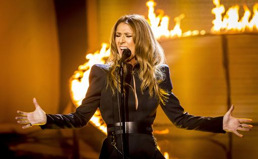 Celine Dion on the UK X-Factor. Photograph Courtesy of YouTube