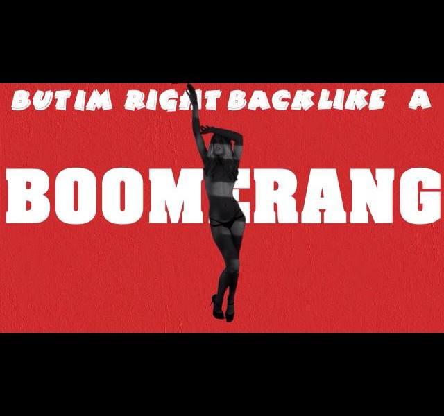 Eric Saade Boomerang. Photograph YouTube