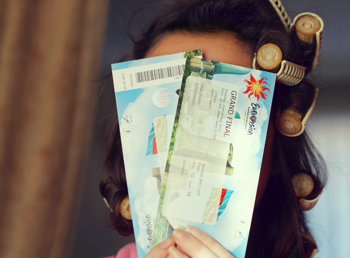 Eurovision 2015 Tickets. Photo : ViewsonHeels