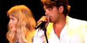 Ilse DeLange and Waylon for Eurovision 2014. Photo : nlpop.blog.nl
