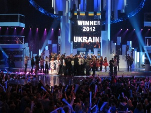 JESC 2012 Ends. Photograph EBU/NTU